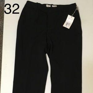 womens straight leg curvy-bi stretch twill pants